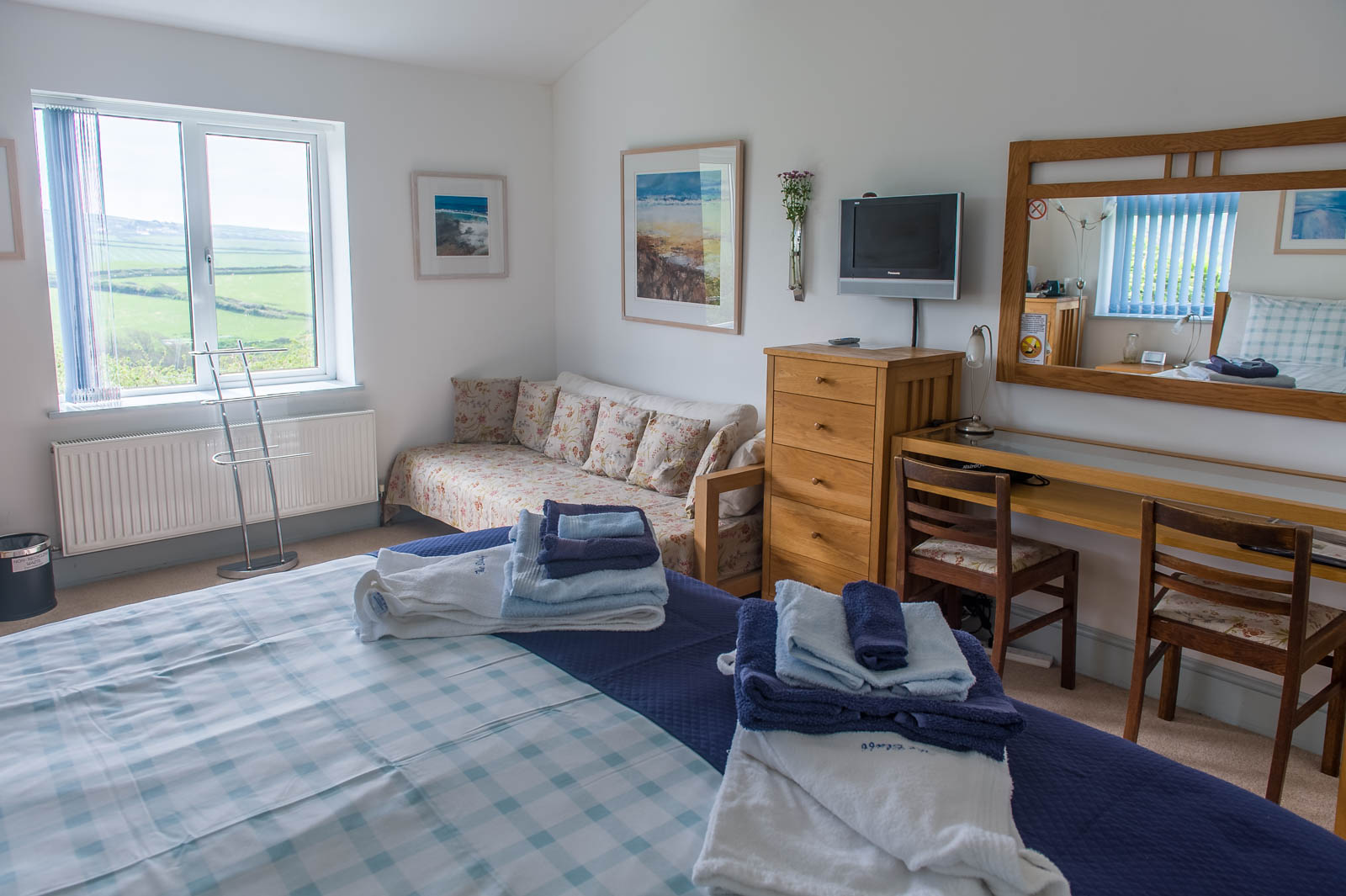 The Bluff Fulmars Bedroom